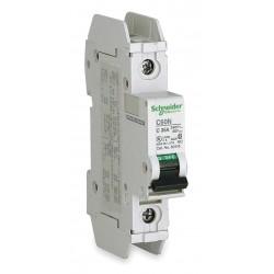 Telemecanique / Schneider Electric - 60110 - Miniature Circuit Breaker, 10 Amps, C Curve Type, Number of Poles: 1