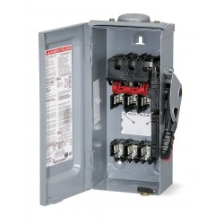 Square D - HU364RBEI - Safety Switch, 3R NEMA Enclosure Type, 200 Amps AC, 125 HP @ 600VAC HP