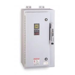 Square D - HU361DFEI - Safety Switch, 4X NEMA Enclosure Type, 30 Amps AC, 20 HP @ 600VAC HP