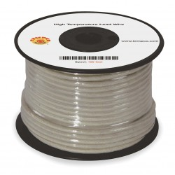 Tempco - LDWR-1014 - 100 ft., 600VAC High Temperature Lead Wire with MG Cable Type and 12 AWG Wire Size, Natural