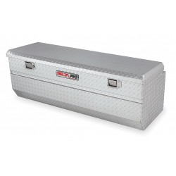Jobox - PAH1420460 - Aluminum Truck Box Chest, Silver, Single, 12.1 cu. ft.