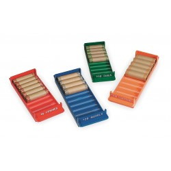 MMF Industries - 212080000 - Rolled Coin Storage Tray Set, PK4