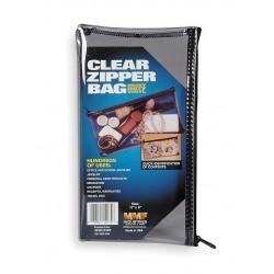 MMF Industries - 234041720R - Clear Zippered Cash Bag, Vinyl
