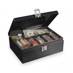 MMF Industries - 221613004 - Cash Box, Black, 11x7-3/4x4