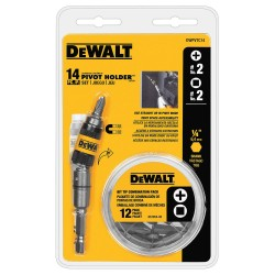 Dewalt - DWPVTC14 - DeWALT DWPVTC14 14-piece Pivot Holder Screwdriving Set