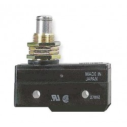 Omron - A-20GQ - 20A @ 480V Panel Mount, Plunger Industrial Snap Action Switch; Series A