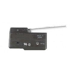 Omron - A-20GV - 20A @ 480V Hinge, Lever Industrial Snap Action Switch; Series A