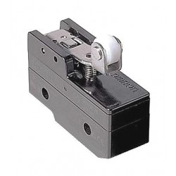 Omron - A-20GV22 - 20A @ 480V Hinge Roller, Lever, Short Industrial Snap Action Switch; Series A