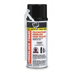 Dap - 44242 - 12 oz. Fire Barrier Insulating Spray Foam Sealant Kit, Orange
