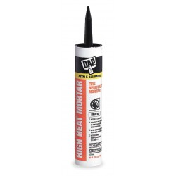Dap - 18854 - Black Silicate Cement, Hybrid, 10.1 oz. Cartridge