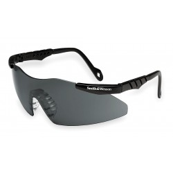 Smith & Wesson - 19823 - Magnum 3G Scratch-Resistant Safety Glasses, Smoke Lens Color