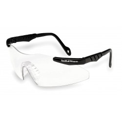 Smith & Wesson - 19822 - Smith Wesson Magnum 3G Mini Scratch-Resistant Safety Glasses, Clear Lens Color