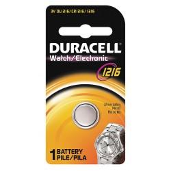 Duracell - DL1216BPK - Duracell General Purpose Battery - 25 mAh - Lithium (Li) - 3 V DC - 1 Pack