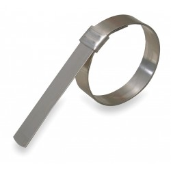 Band-IT - GRS209 - 201 Stainless Steel Band Clamp, PK of 24