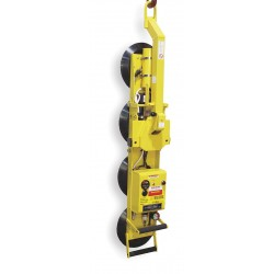 Woods Powr-Grip - P11104DC - Single Channel Lifter, Manual 180 Rotation/90 Tilt, Max. Lift Load Cap. (Lb.) 700