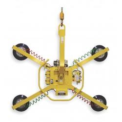 Woods Powr-Grip - MRT411LDC - Multipurpose Lifter, Manual 360 Rotation/90 Tilt, Max. Lift Load Cap. (Lb.) 700, Number of Pads 4
