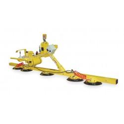 Woods Powr-Grip - FLEX5HV11AIR - Flexible Lifter, Horizontal, Max. Lift Load Cap. (Lb.) 1500, Number of Pads 5, 10