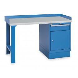 Lista - XSWB31-60PT/BB - Workbench, Laminate, 30 Depth, 35-1/4 Height, 60 Width, 1000 lb. Load Capacity