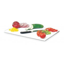 Cambro - EACB1220 - 21 3/8 x 13 1/8 Polyethylene Cutting Board, White