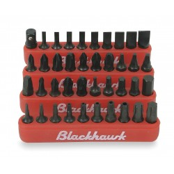 Blackhawk / Stanley - 940-JS - Set Inset Bits 40pc