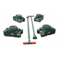 Hilman Rollers - RS-120-SLP - 350-s120fp 120t Economyroller Set W/swivel Lo