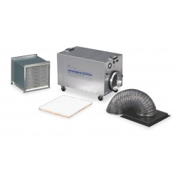 Omnitec Design - OA1000V - HEPA Negative Air Machine, 1/2 HP, 115 Voltage, 5.8 Amps, 300 to 950 cfm