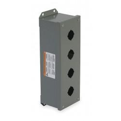 Telemecanique / Schneider Electric - 9001KYAF4 - Pushbutton Enclosure, 1, 3, 13 NEMA Rating, Number of Columns: 1