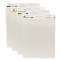 3M - 559VAD4PK - 3M Post-It Easel Pad White 25 in x 30 in, 30sht/pad, 4 pads/pk