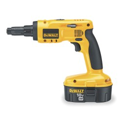 "Dewalt - DC668KA - DeWALT XRP 18 V Ni-Cad 2700 RPM Cordless Light Gauge Steel Framing Screwdriver Kit With 1/4"" Chuck (Includes 1 Hour Charger, (2) 18V XRP Batteries, #2 Phillips Screwdriver Bit, 5/16"" Nut Runner And Kit Box)"