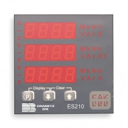 Dranetz - ES2105AE - Digital Panel Meter, Power and Energy