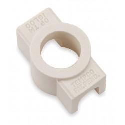 Tempco - CER-101-104 - CeramicTerminalCovers, 2InLine Ports, PK10