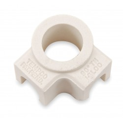 Tempco - CER-101-106 - Ceramic Terminal Covers, 2 Ports 90D, PK10