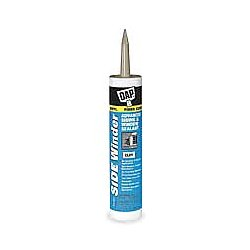 Dap - 00807 - DAP SIDE WINDER Advanced Polymer Siding & Window Sealant - Silicone Polyether - Light Gray