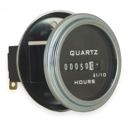 Redington - 732-0013 - Hour Meter, 10 to 80VDC Operating Voltage, Number of Digits: 6, Round Bezel Face Shape