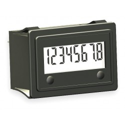 Redington - 3410-5000 - Hour Meter, Number of Digits: 8, Rectangular Bezel Face Shape