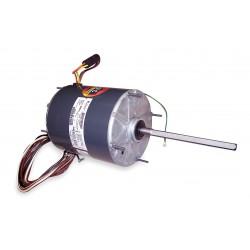 Genteq - 5KCP39RGU709S - 1/2 to 1/6 HP Condenser Fan Motor, Permanent Split Capacitor, 1075 Nameplate RPM, 208-230 Voltage, Frame