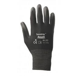 Ansell-Edmont - 48-101-8 - Sensilite 48-101 Black Nylon Lined Sz 8