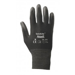 Ansell-Edmont - 48-101-11 - 288491 11 Sensilite Black Nylon Lined