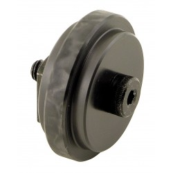 80/20 - 2290 - 2.0000 Roller Dia. Flat Stud Roller Wheel;Hex Socket Face Design