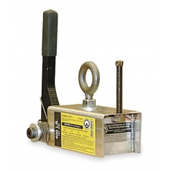 World of Welding - CL0400 - Lifting Magnet, 400 lb Cap, 7-3/4 In OAL