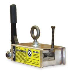 World of Welding - CL1000 - Lifting Magnet, 1000 lb Cap, 10-3/4 In OAL