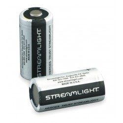 Streamlight - 85180 - Streamlight Flashlight Battery - CR123A - Lithium (Li) - 3 V DC - 6 / Pack