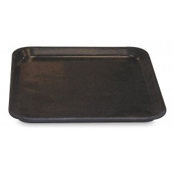 Molded Fiberglass - 3030005167 - Tray, Black, 1H x 13-3/4L x 10-5/8W, 1EA