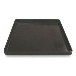 Molded Fiberglass - 8480005167 - Stacking Tray, Black, 1-1/2H x 26L x 20W, 1EA