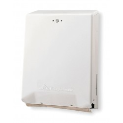 Georgia Pacific - 56601 - BigFold Universal C-Fold, Multifold Manual Paper Towel Dispenser, White
