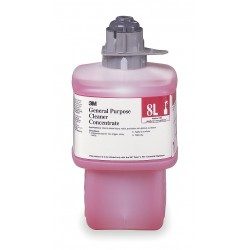 3M - 8L - General Purpose Cleaner, For Use With 3M Twist 'n Fill Chemical Dispenser, 1 EA