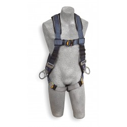 DBI / Sala - 1108575 - S General Industry Full Body Harness, 6000 lb. Tensile Strength, 420 lb. Weight Capacity, Blue/Gray