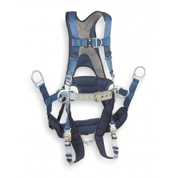 DBI / Sala - 1108650 - S Tower Climbing Full Body Harness, 6000 lb. Tensile Strength, 420 lb. Weight Capacity, Blue/Gray