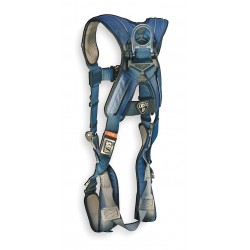 DBI / Sala - 1110103 - XL General Industry Full Body Harness, 6000 lb. Tensile Strength, 420 lb. Weight Capacity, Blue/Gray