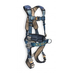DBI / Sala - 1110150 - S Construction Full Body Harness, 6000 lb. Tensile Strength, 420 lb. Weight Capacity, Blue/Gray